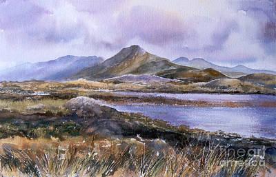 Derrinver Connemara Art Print by Kate Bedell