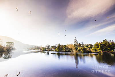 Norfolk Wall Art - Photograph - Derwent River Reflections by Jorgo Photography - Wall Art Gallery