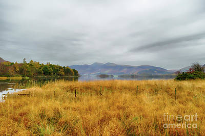 Photograph - Derwent Valley And Skiddaw Autumn by Linsey Williams