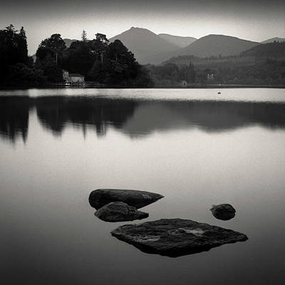 Photograph - Derwent Water by Dave Bowman