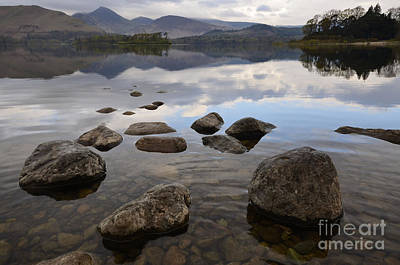 Lake District Wall Art - Photograph - Derwentwater by Smart Aviation