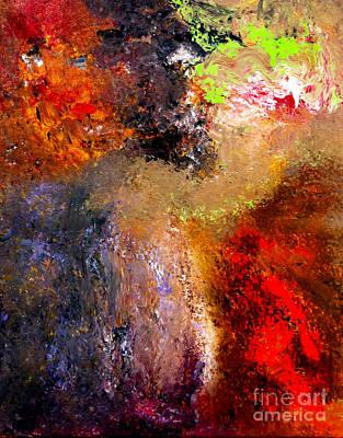 Indefinite Painting - Desarroi by Ayasha Loya
