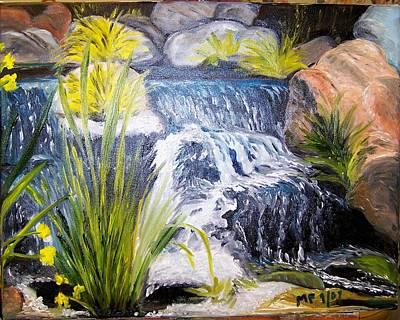 Descanso Waterfall Art Print by Madeleine Prochazka