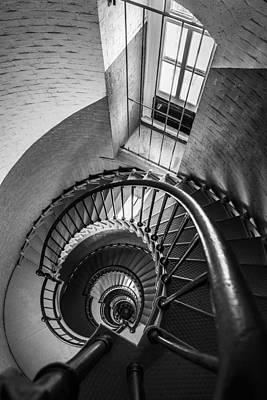 Stair Case Photograph - Descent by Kristopher Schoenleber