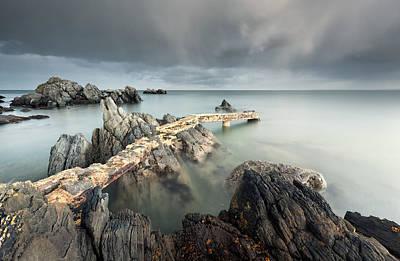 Water Filter Photograph - Descent by Pawel Klarecki