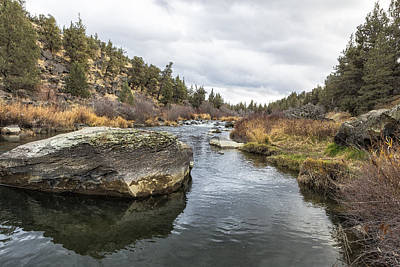 Photograph - Deschutes River At Eagle Crest by Belinda Greb