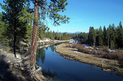 Deschutes River Photograph - Deschutes River by Bonnie Bruno