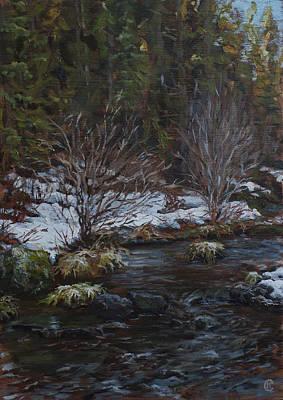 Painting - Deschutes River by Chapman Hamborg