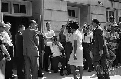 University Of Alabama Photograph - Desegregation, 1963 by Granger