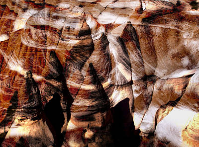 Desert Abstract Art Print by Jane Selverstone