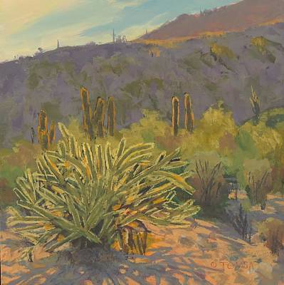 Painting - Desert Afternoon - Art By Bill Tomsa by Bill Tomsa