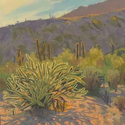Desert Afternoon - Art By Bill Tomsa Original