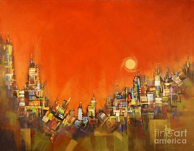 Animal Watercolors Juan Bosco - Desert City by Paul Henderson