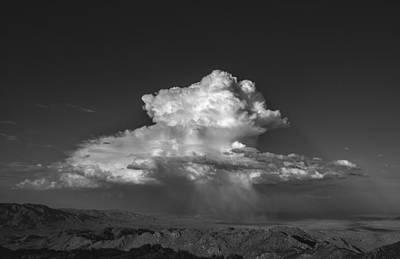Desert Cloudburst Art Print