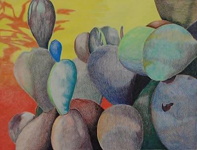 Mixed Media - Desert Color by Charla Van Vlack