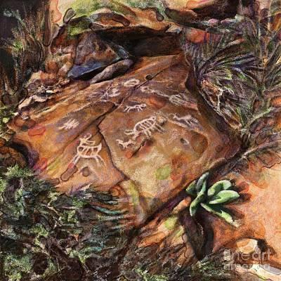 Desert Colors Art Print by Julianne Black