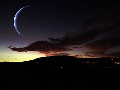 Photograph - Desert Crescent by Kathleen Messmer
