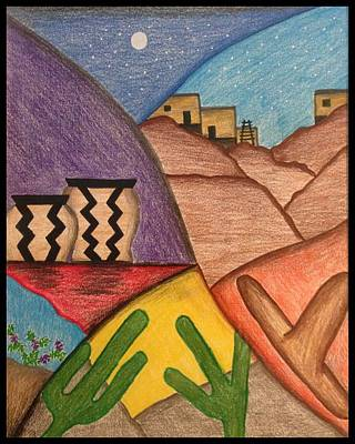 Mixed Media - Desert Dance by Heidi Moss