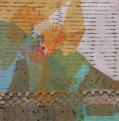 Catherine White Mixed Media - Desert Dawn by Catherine Hollander