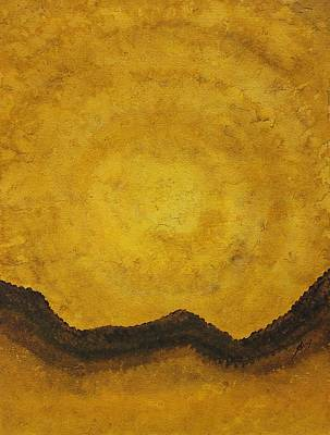 Painting - Desert Daybreak Original Painting by Sol Luckman
