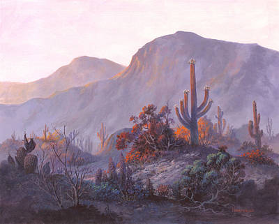 Painting - Desert Dessert by Michael Humphries
