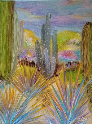 Painting - Desert Drama by Judith Rhue