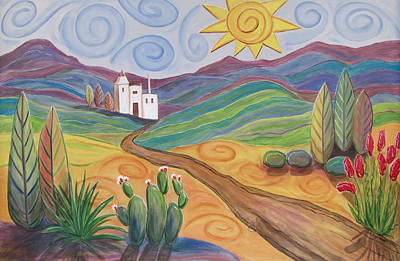 Painting - Desert Dreams by Anita Burgermeister