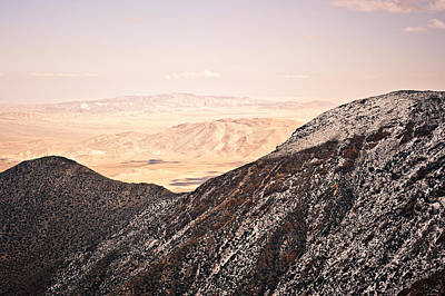 Photograph - Desert Dreams From Snowy Ridges by Alexander Kunz