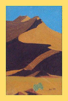Israeli Flag - Desert Dunes by Julia Woodman