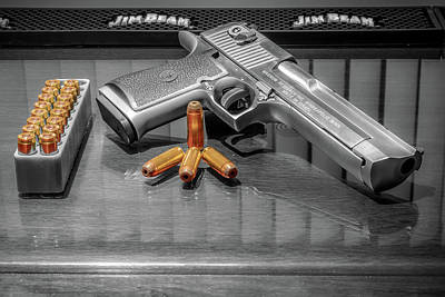 Photograph - Desert Eagle .50ae Magnum by Rob Green