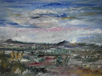 Desert Art Print by Edward Wolverton