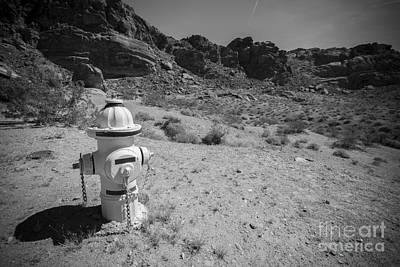 Canon Eos 5d Mark Iii Photograph - Desert Fire Hydrant by Daniel  Knighton