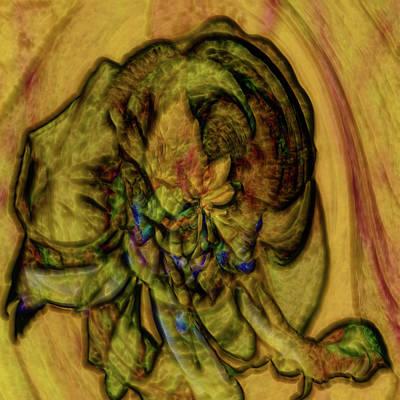 Digital Art - Desert Flower Dream by Richard Thomas