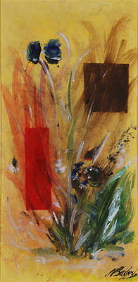 Painting - Desert Flowers by Bill Bailey