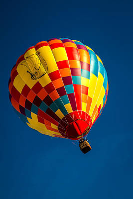 Photograph - Desert Flying Viking - Hot Air Balloon by Ron Pate