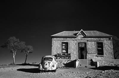 Volkswagen Photograph - Desert Gallery by Mel Brackstone