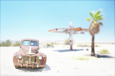 Photograph - Desert Gas, California by Marty Garland