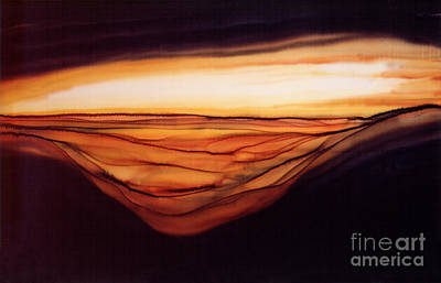 Desert Glow Art Print by Addie Hocynec