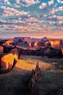 Desert Glow   Art Print by Nicki Frates