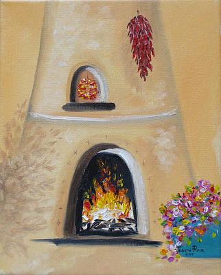 Painting - Desert Heat by Judith Rhue
