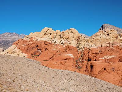 Desert Hills Print by Rae Tucker