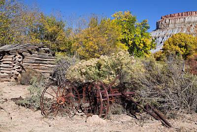 Photograph - Desert Homestead by Kathleen Bishop