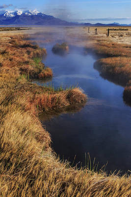 Photograph - Desert Hot Spring by Cat Connor