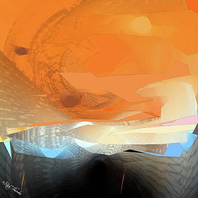 Mixed Media - Desert Inferno by Rick Thiemke