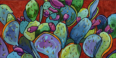 Painting - Desert Jewels by Alexandria Winslow