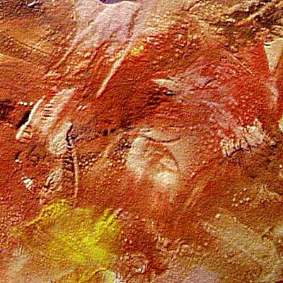 Encaustic Painting - Desert Land by Dragica  Micki Fortuna