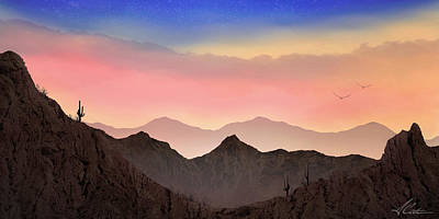 Photograph - Desert Landscape by Anthony Citro