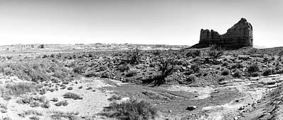 Photograph - Desert Landscape - Arches National Park Moab, Utah by Victor Ellison
