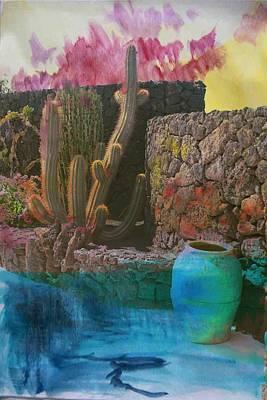 Photograph - Desert Landscape by Contemporary Art