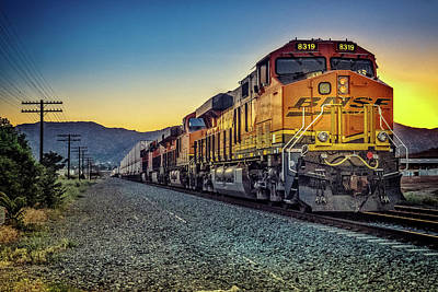 Photograph - Desert Loco, California by Marty Garland